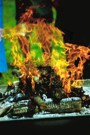 the sacred fire offers participants an opportunity to